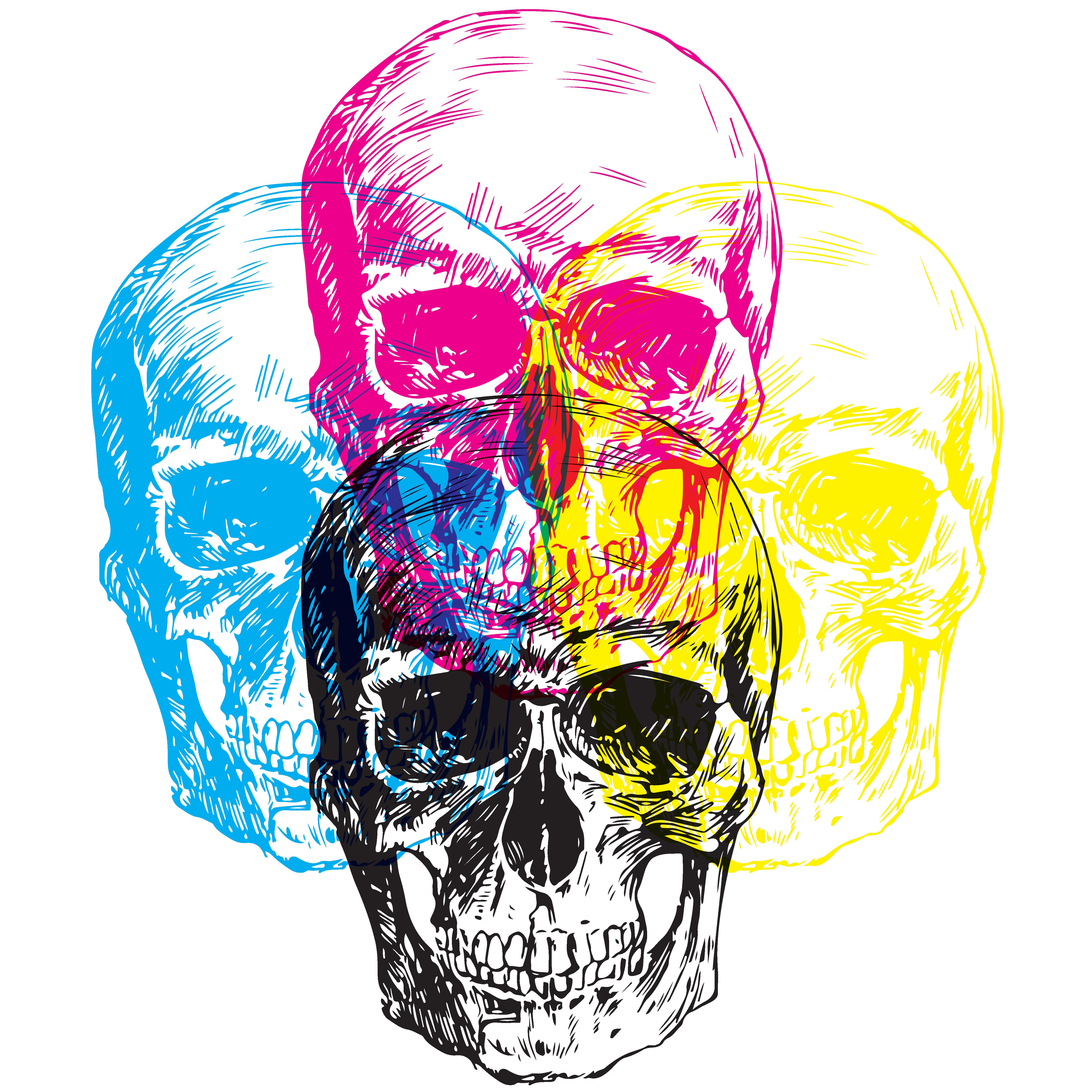CMKY Skulls