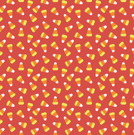 Halloween Candy Corn Pattern